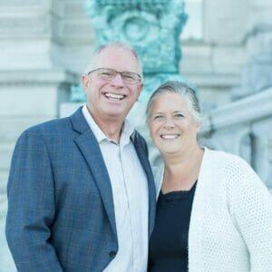 Joel and Patty Barkman