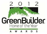 Green Builder 2012 award