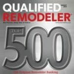 Qualified Remodeler's Top 500 Award