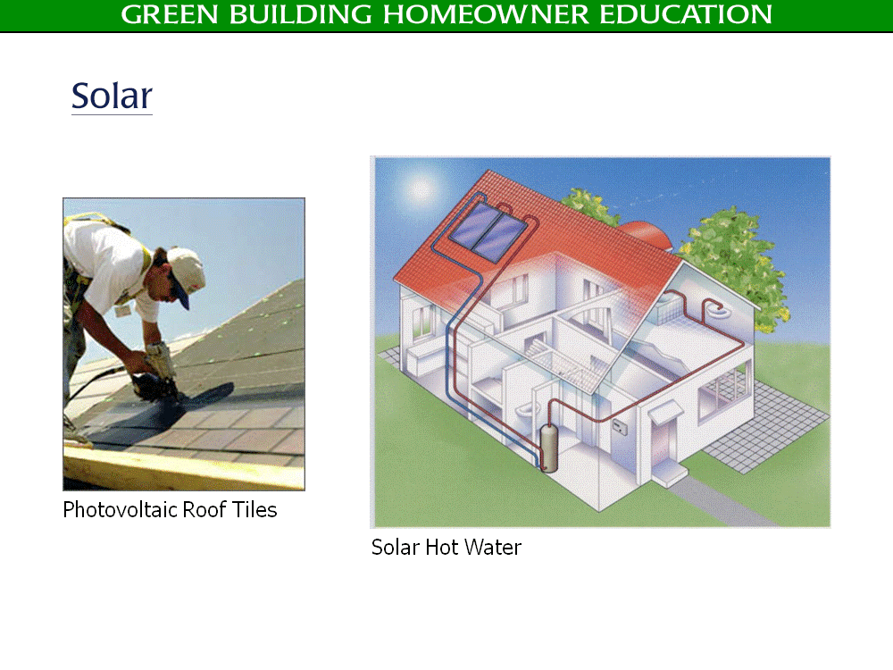 Green Building Solar - Golden Rule Builders