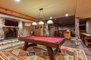 Pool-Table-Fireplace