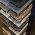 Golden Rule Builders, Inc., Showroom Center - Flooring Display - Surface options