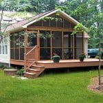 Golden Rule Builders, Inc., Remodeling & Addition Project - Porch & Deck