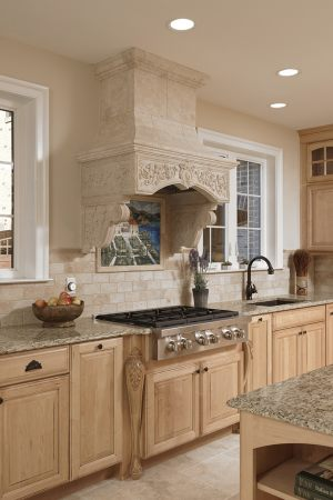 French_Country_Home_-_Int_Kitchen_Decorative_Hood