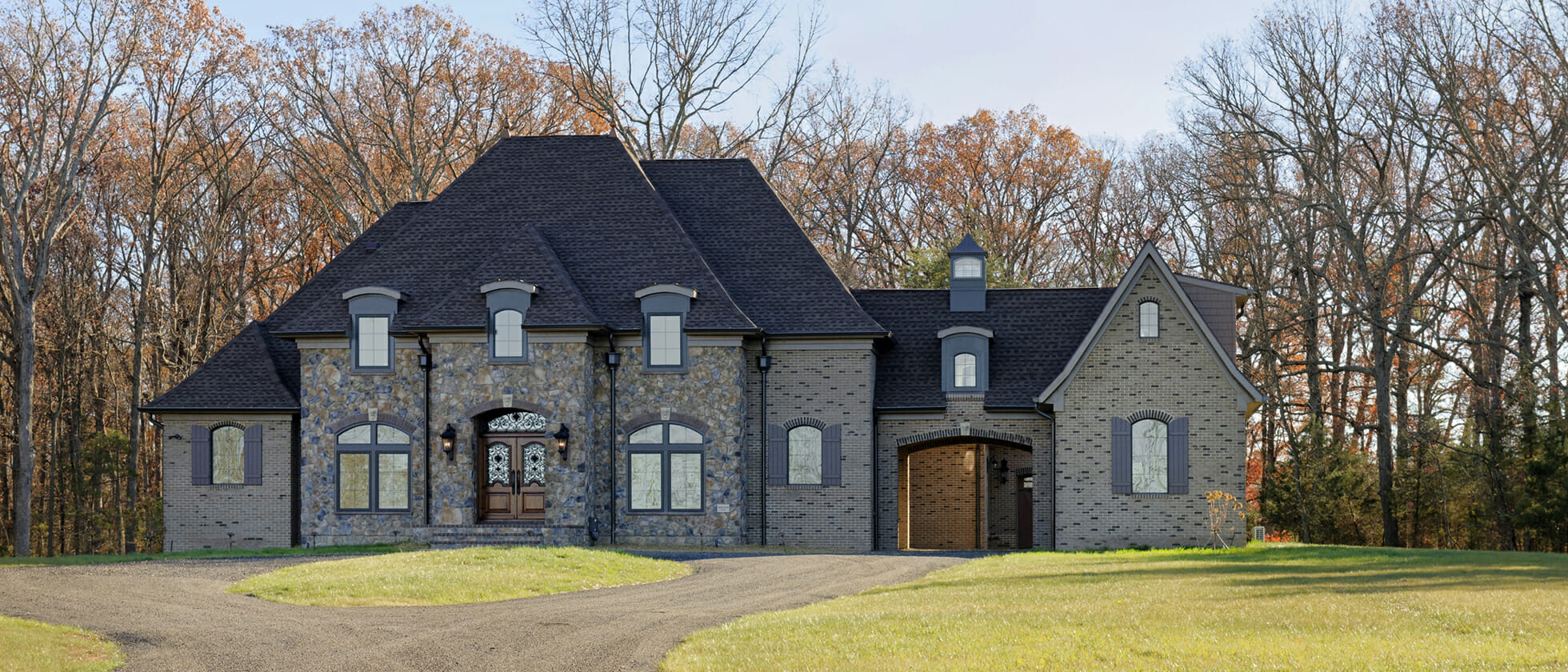 Golden Rule Builders, Inc. French Country Home