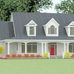 Golden Rule Builders - Cape Cod 5 Model Home