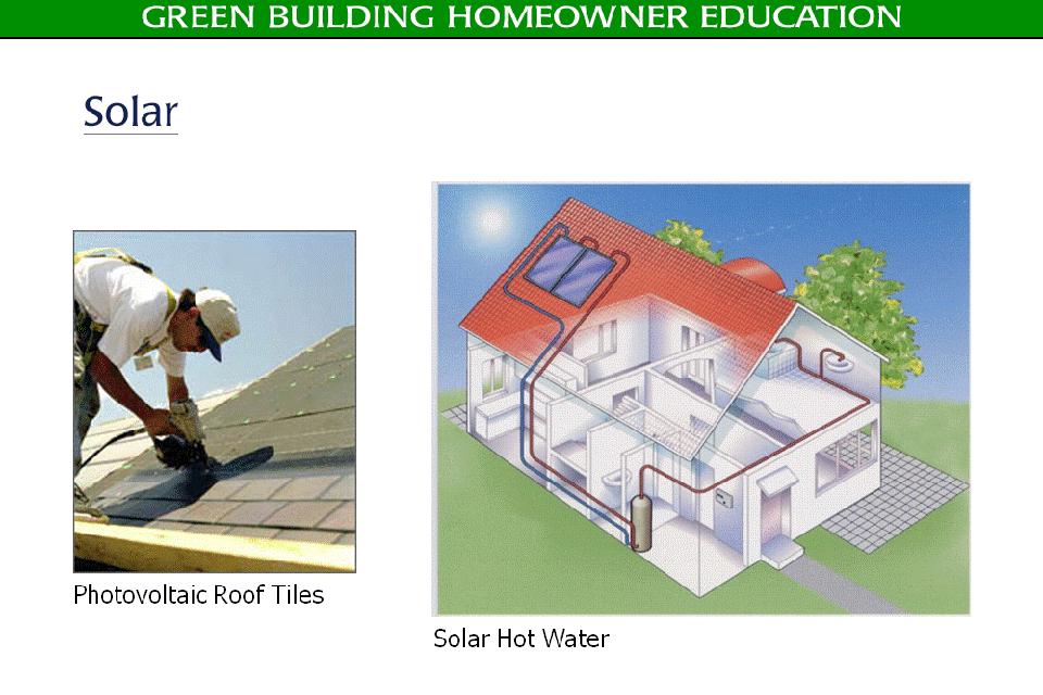 Green Building Homeowner Education